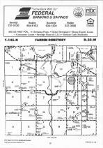 Farden T145N-R32W, Hubbard County 1992 Published by Farm and Home Publishers, LTD